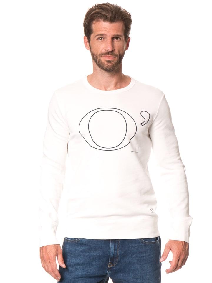 Marc O'Polo Sweatshirt in Weiß