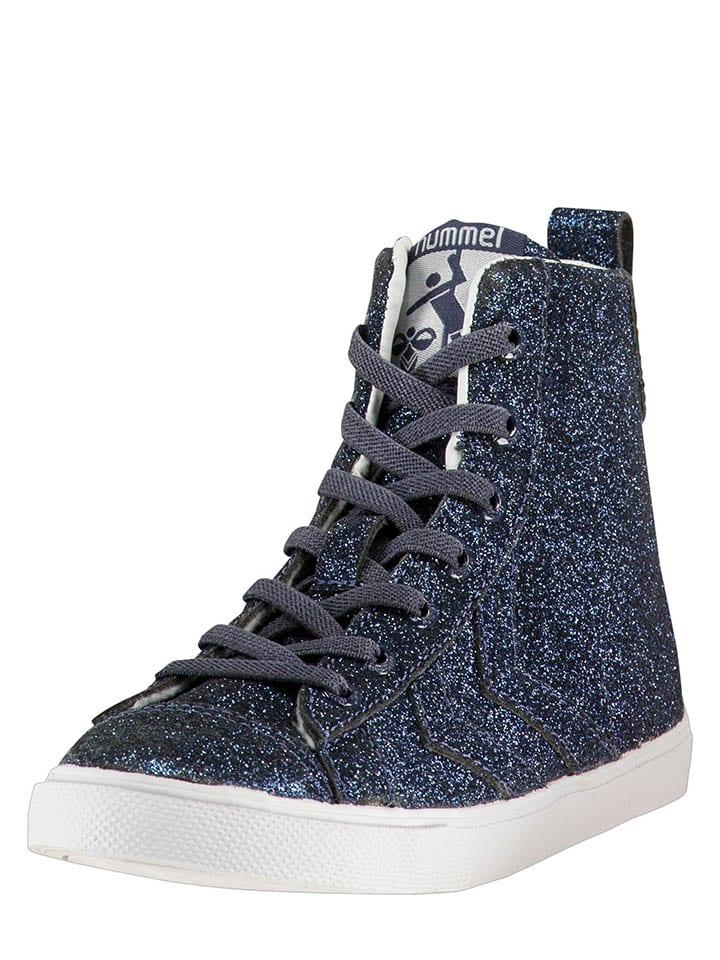 Hummel Sneakers Strada Glitter in Lila