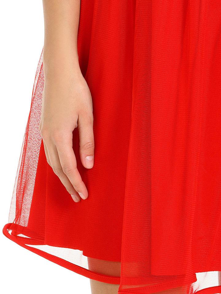 Mademoiselle Lola Kleid in Rot