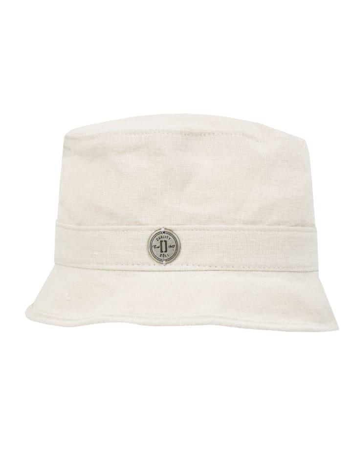 Döll Linnen hoed donkerbeige