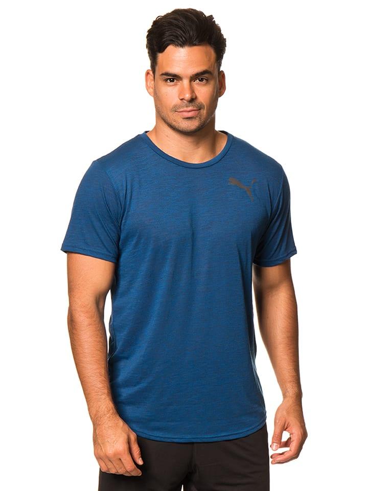 Puma Funktionsshirt in Blau
