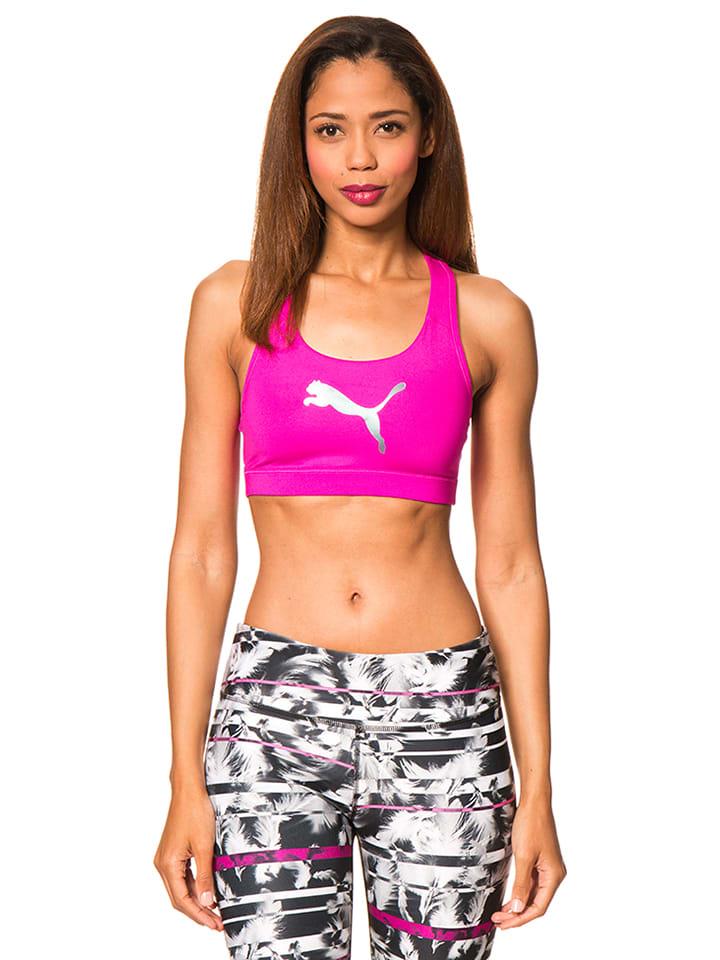 Puma Shape-Sport-BH in Pink