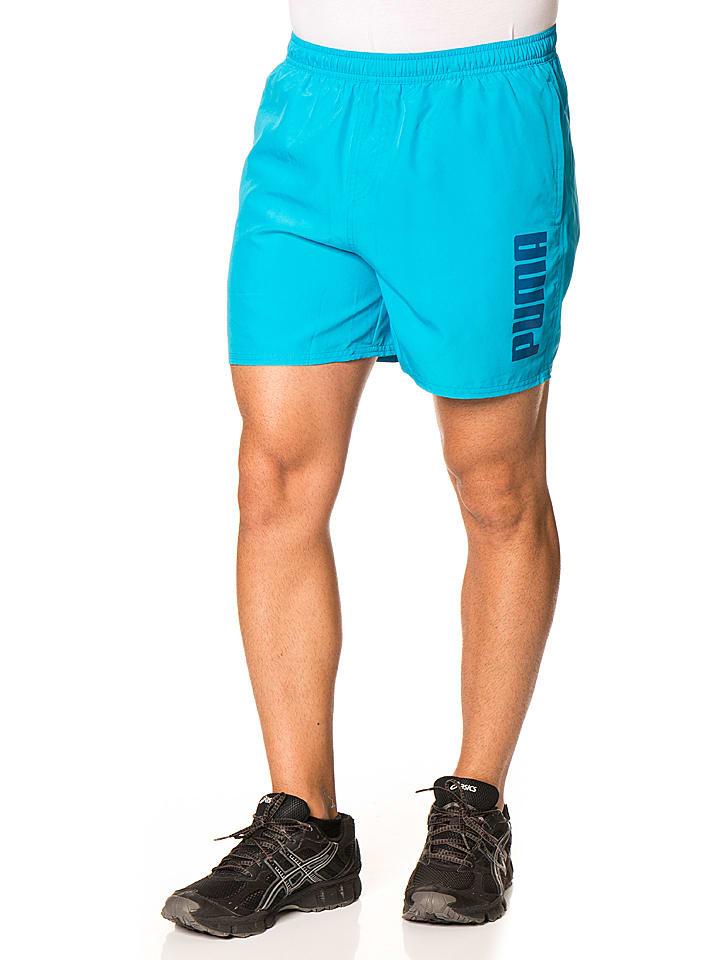 Puma Shorts in Hellblau