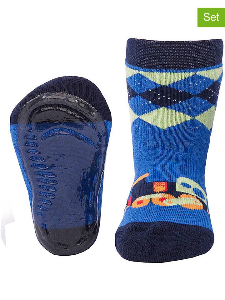 Ewers ABS-Socken in Blau