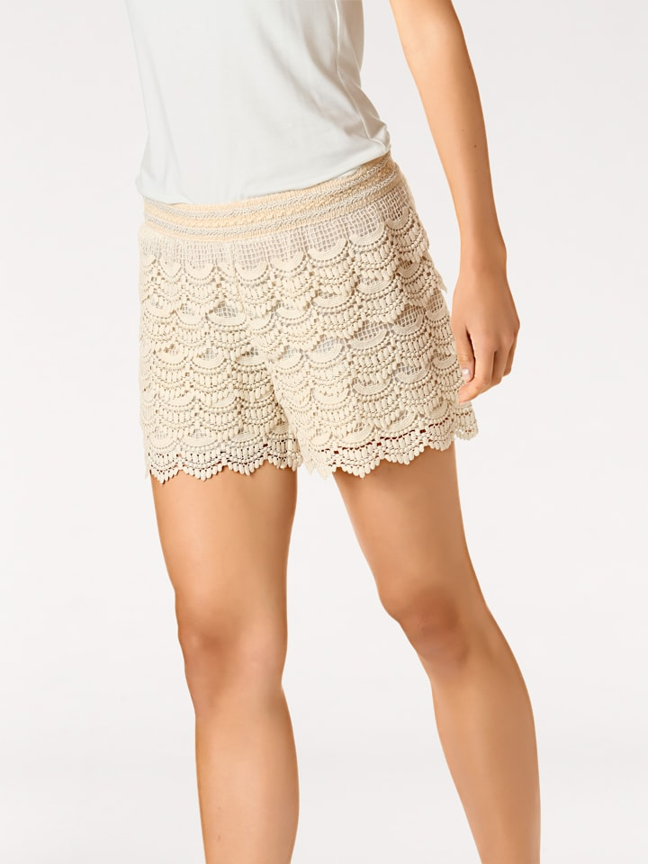 Linea TESINI by heine Shorts in Beige