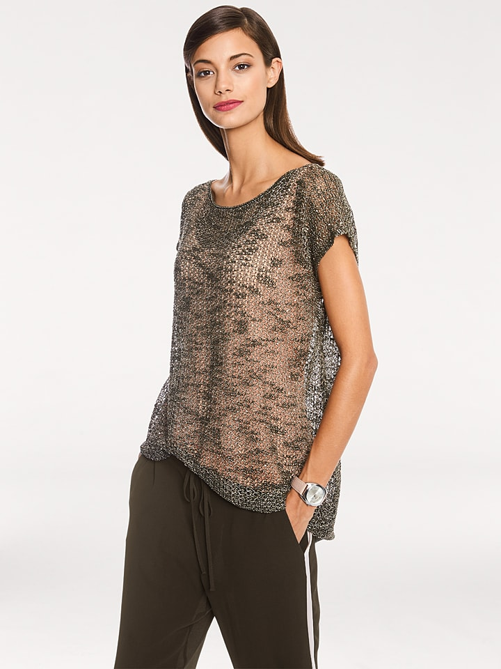 Rick cardona by heine Pullover in Taupe