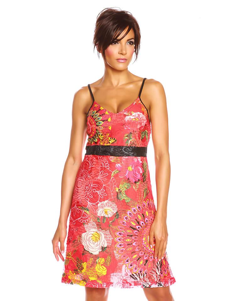 "Colors of the World Kleid ""Masha"" in Fuchsia/ Bunt"