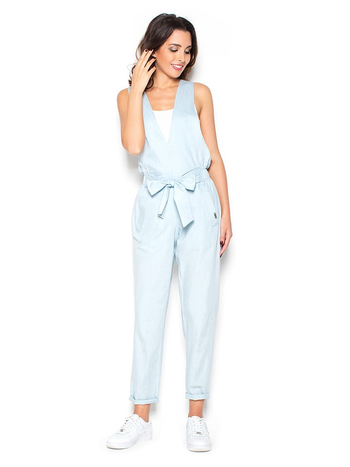 Katrus Jumpsuit in Hellblau