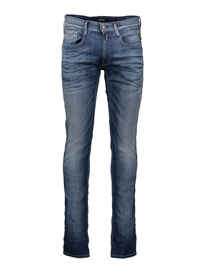 "Replay Jeans ""Anbass"" - Slim fit - in Blau"