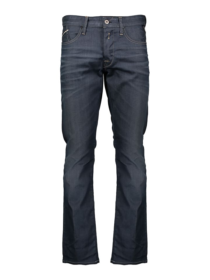 "Replay Jeans ""Waitom"" - Regular slim - in Dunkelblau"