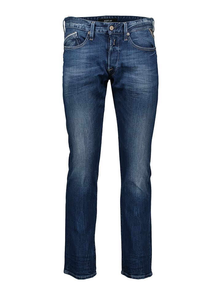 "Replay Jeans ""Waitom"" - Regular Slim fit -  in Blau"