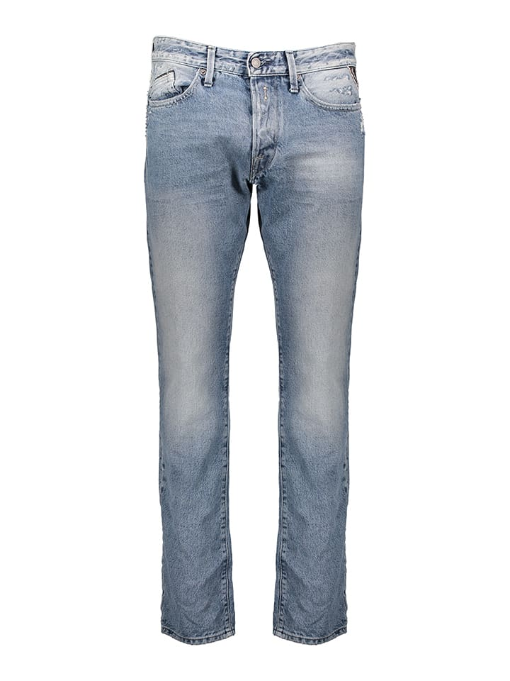 """Replay Jeans """"Waitom"""" - Regular Slim fit -  in Hellblau"""