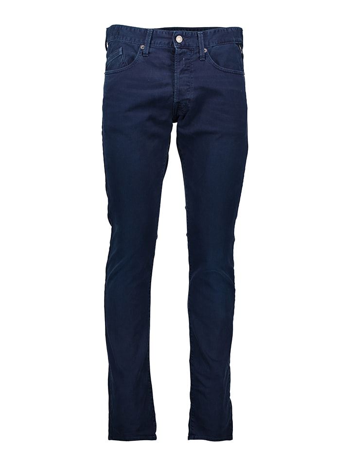 "Replay Jeans ""Waitom"" - Regular Slim fit -  in Dunkelblau"