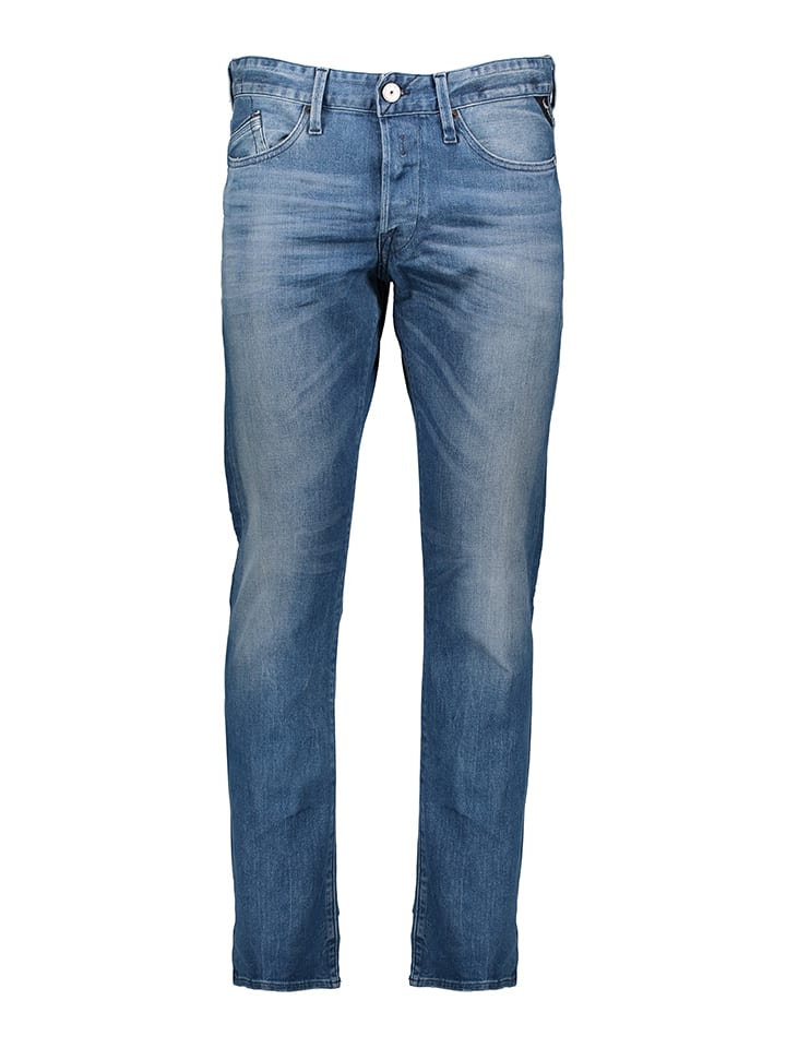 "Replay Jeans ""Waitom"" - Regular slim - in Blau"