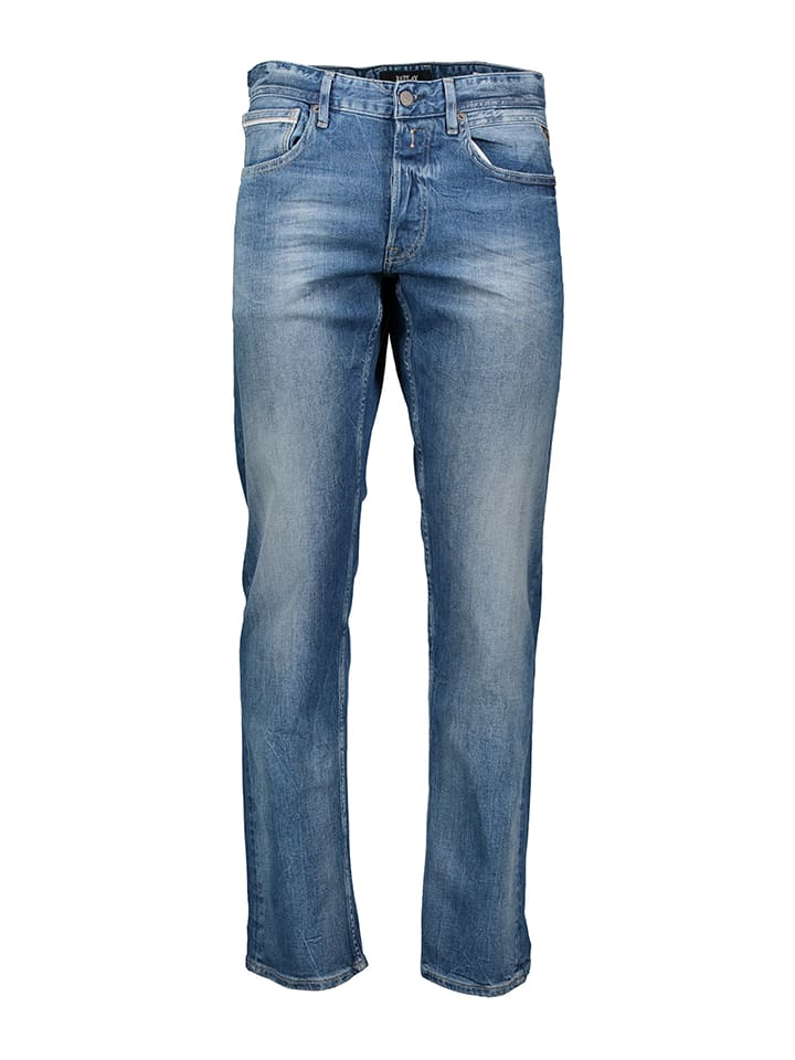 "Replay Jeans ""Grover"" - Straight fit - in Blau"
