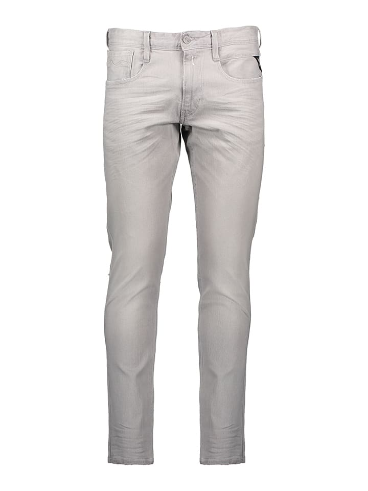 """Replay Jeans """"Anbass"""" - Slim fit - in Grau"""