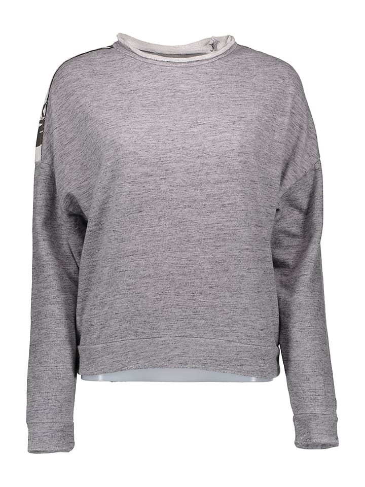 Replay Sweatshirt in Hellgrau