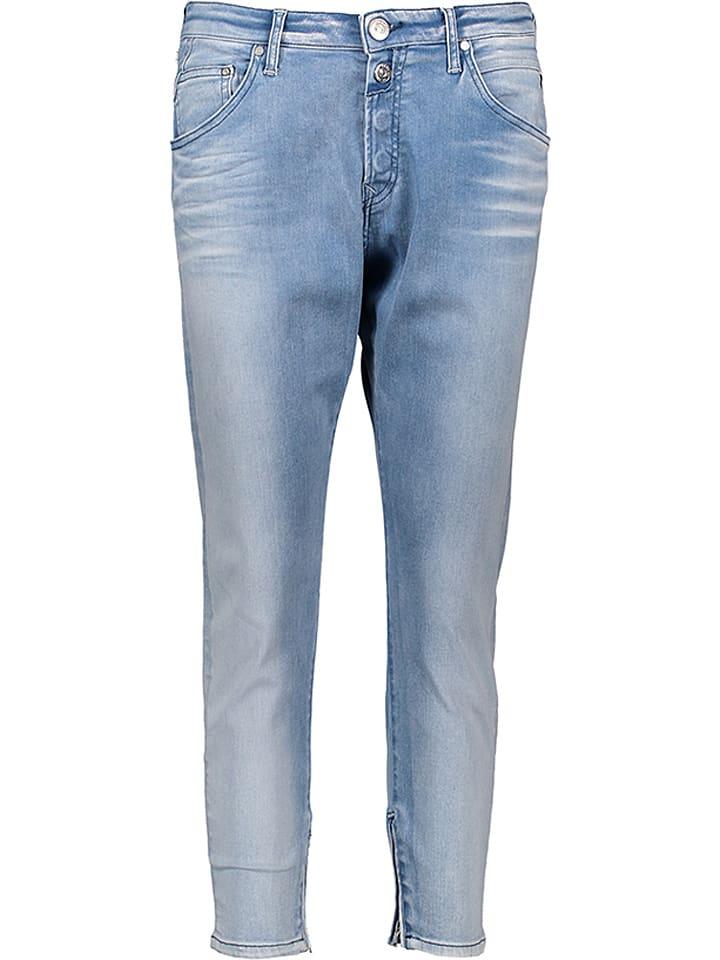 """Replay Jeans """"Pilar"""" - Boyfit - in Hellblau"""