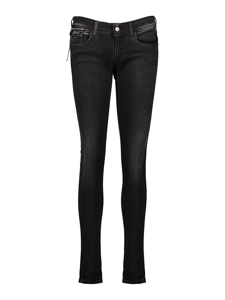 """Replay Jeans """"Luz"""" - Skinny fit - in Schwarz"""