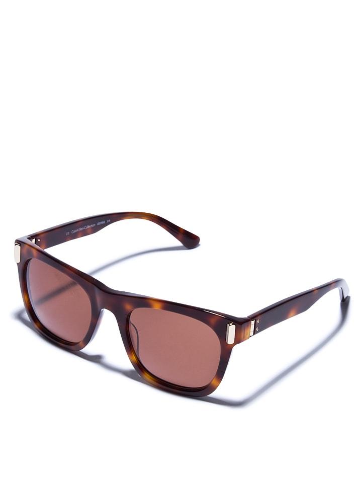Calvin Klein Damen-Sonnenbrille in Transparent-Orange - 63% s3zcod