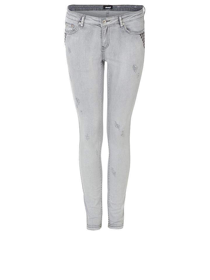 "Eksept Jeans ""Elly Rivas"" - Skinny fit - in Grau"