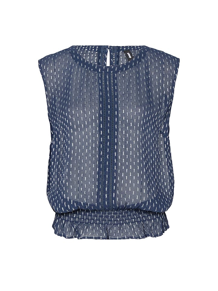 Eksept Top in Blau