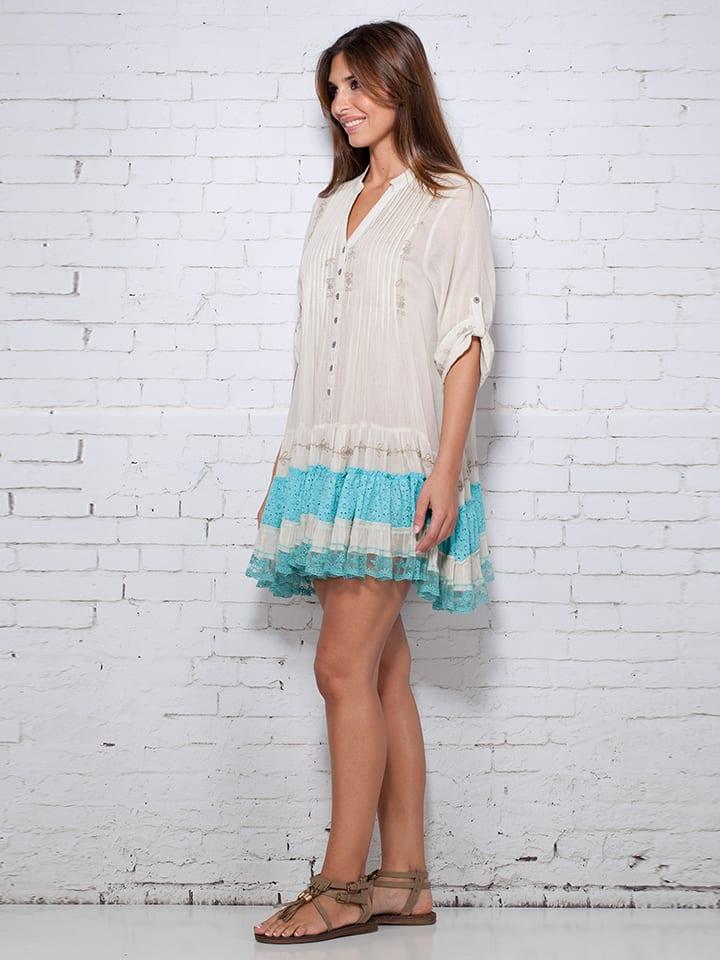 Calao Kleid in Beige