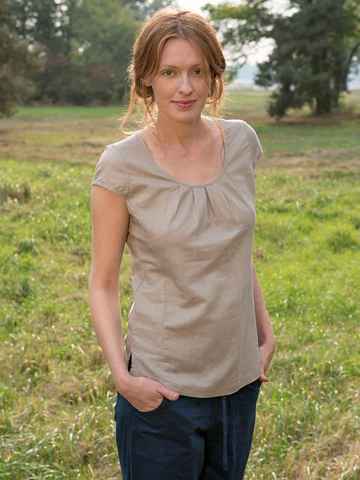 LIVING CRAFTS Shirt in Beige