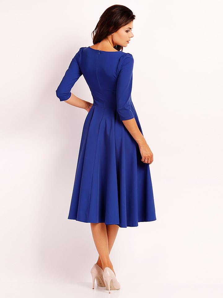 Foggy Kleid in Blau
