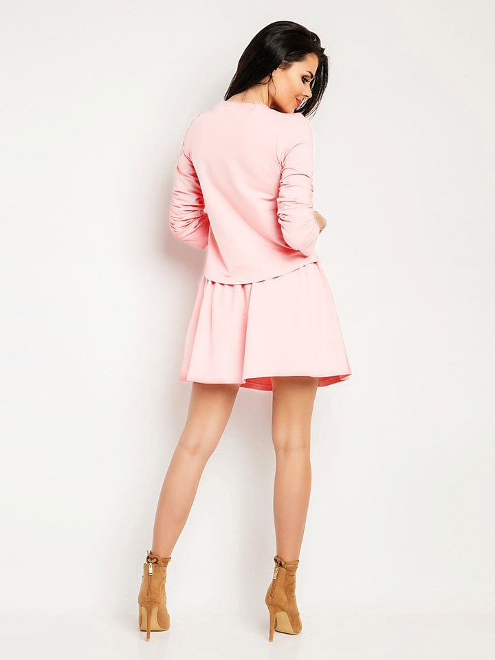 Foggy 2tlg. Outfit in Rosa