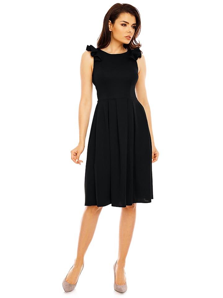 Foggy Kleid in Schwarz
