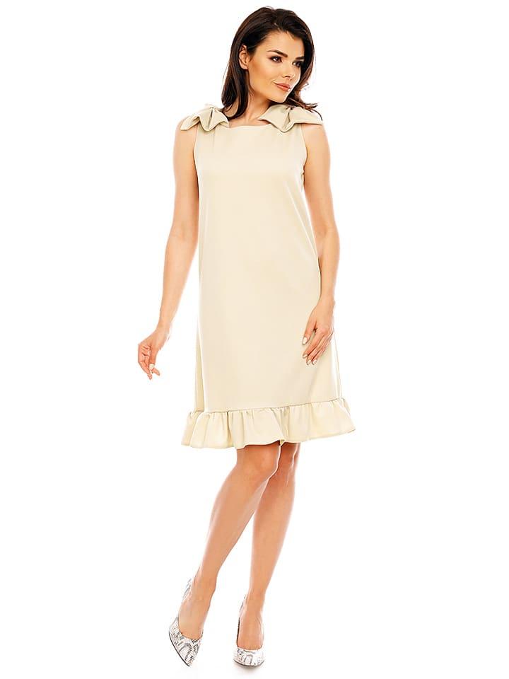 Foggy Kleid in Beige