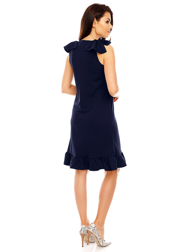 Foggy Kleid in Dunkelblau
