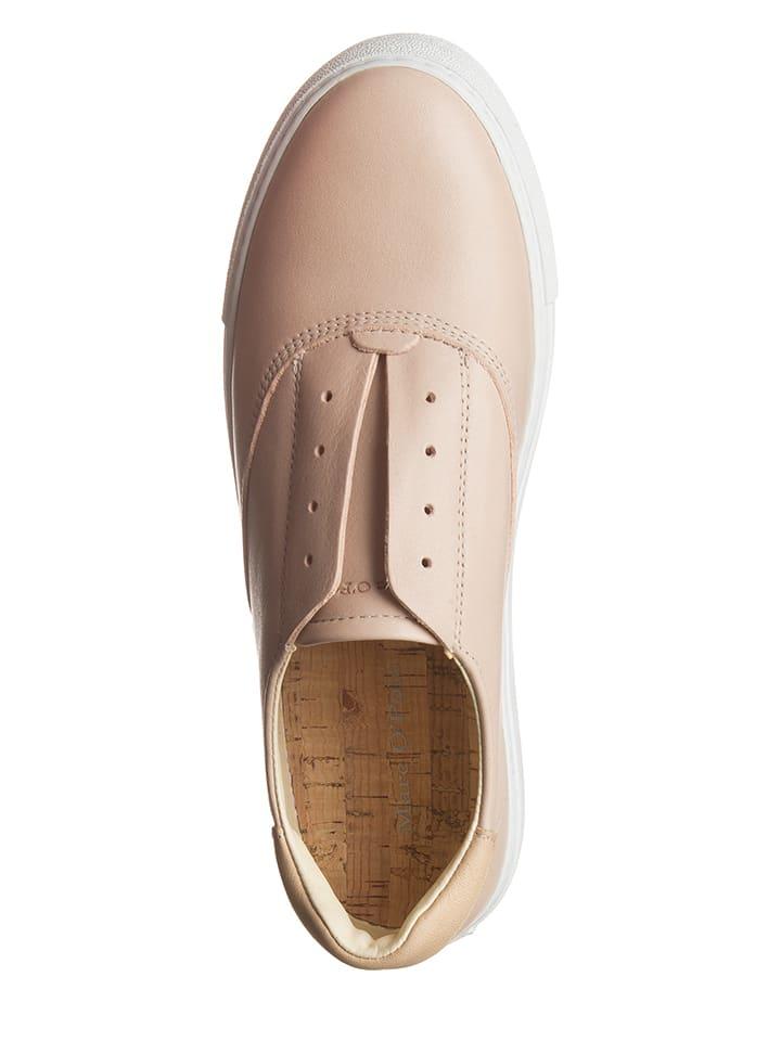 Marc O'Polo Shoes Leder-Slipper in Rosa