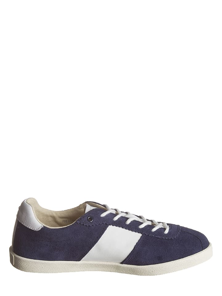 Marc O'Polo Shoes Leder-Sneakers in Dunkelblau
