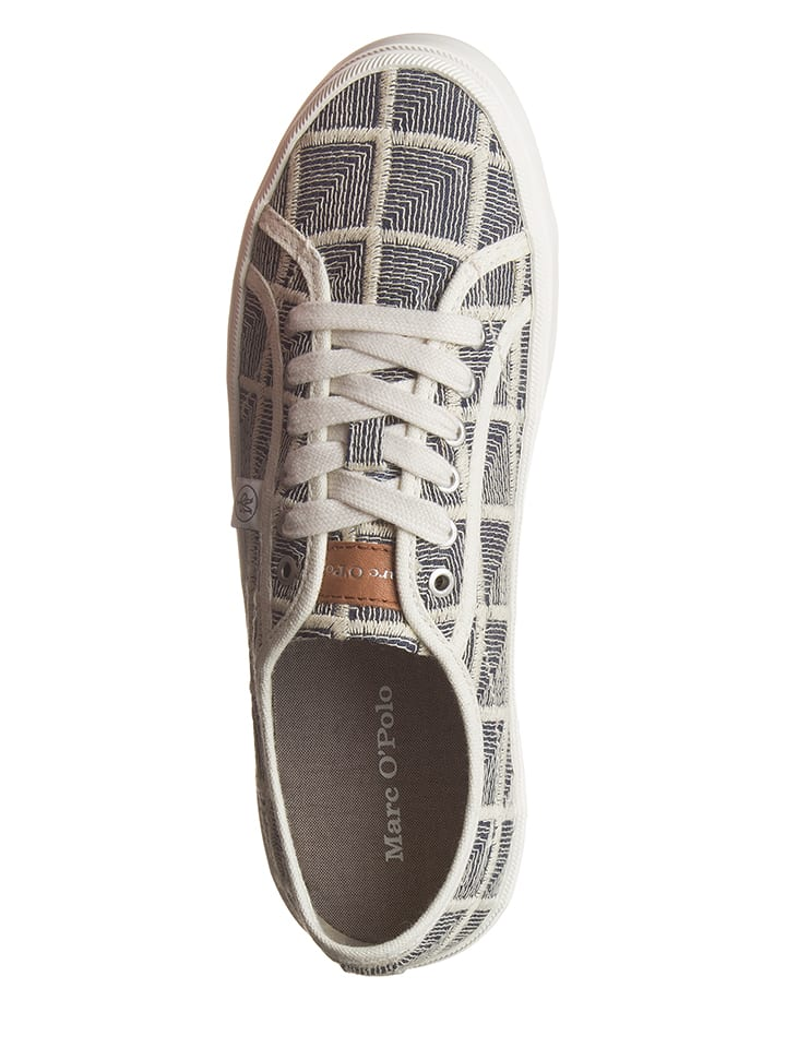 Marc O'Polo Shoes Sneakers in Creme/ Blau