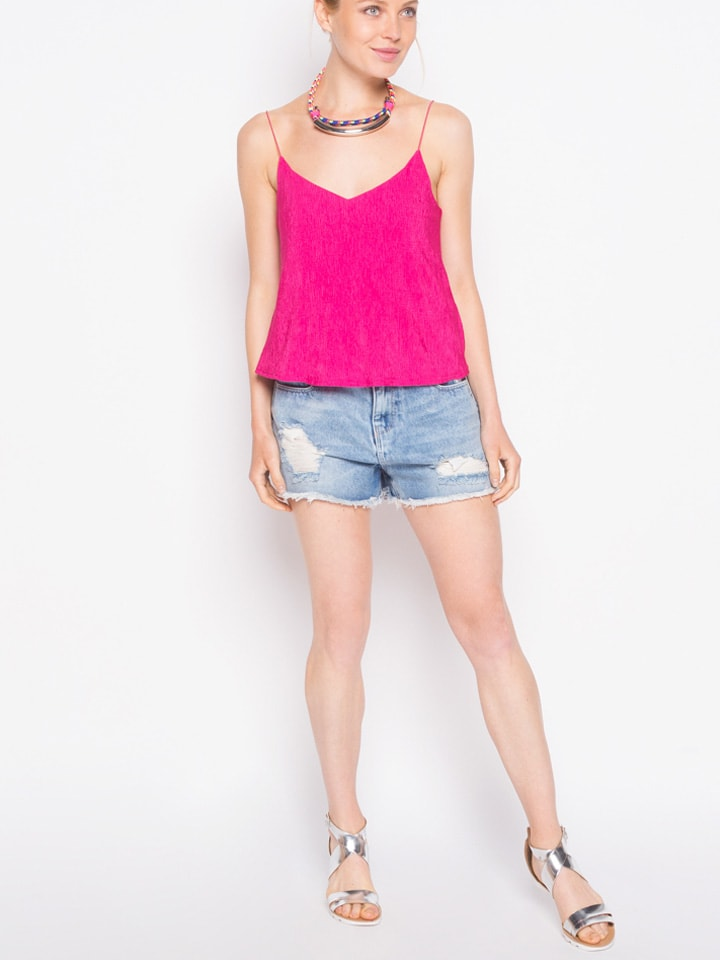 Cache Cache Top in Pink