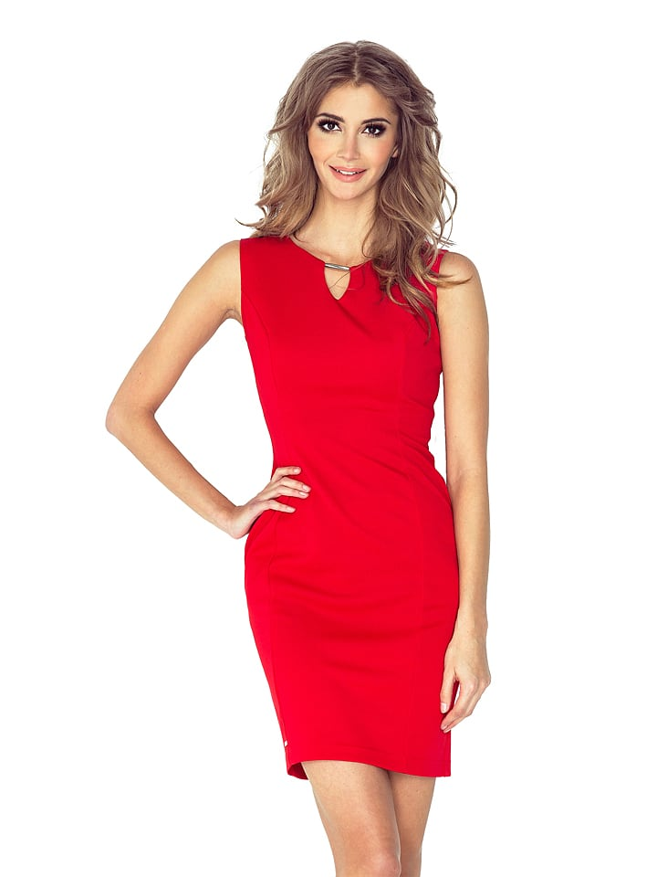 MORIMIA Kleid in Rot