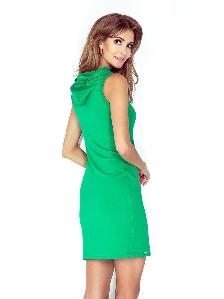 MORIMIA Kleid in Grün