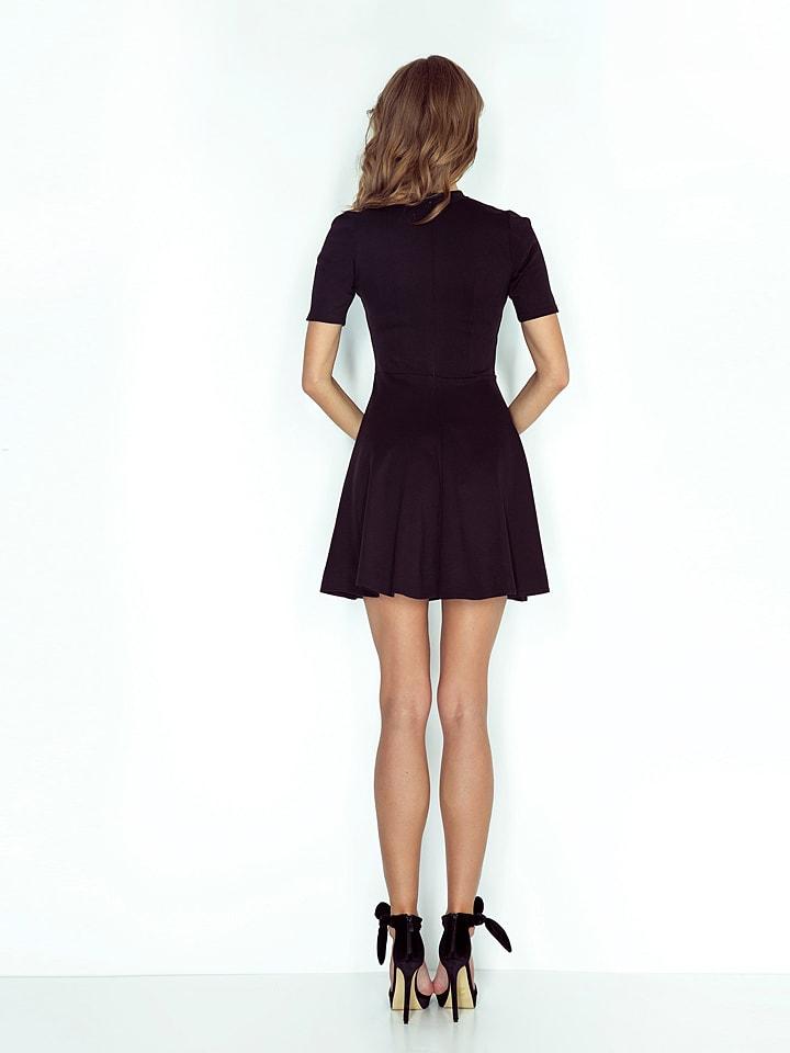 MORIMIA Kleid in Schwarz