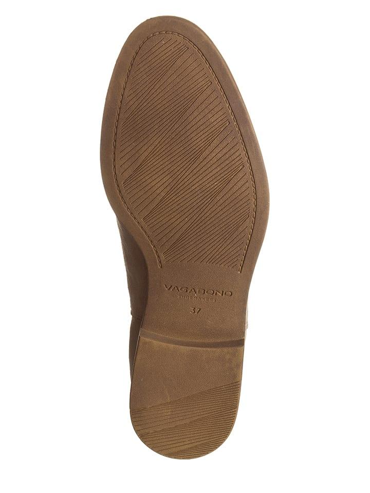 "Vagabond Leder-Chelsea-Boots ""Tay"" in 'Beige"