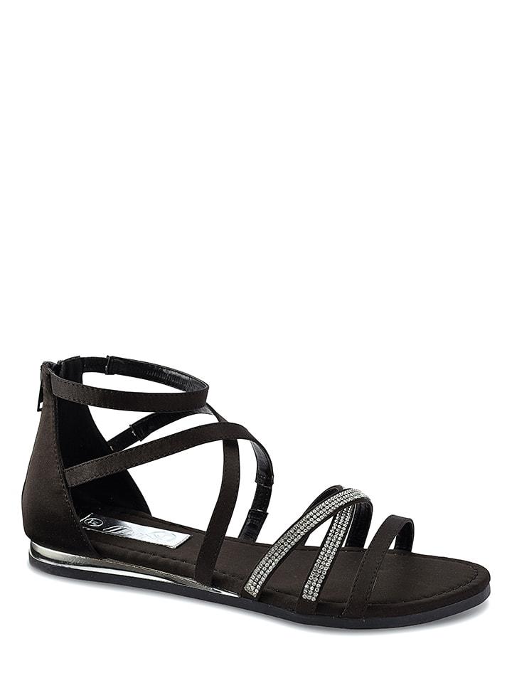 Azur Sandalen in Schwarz