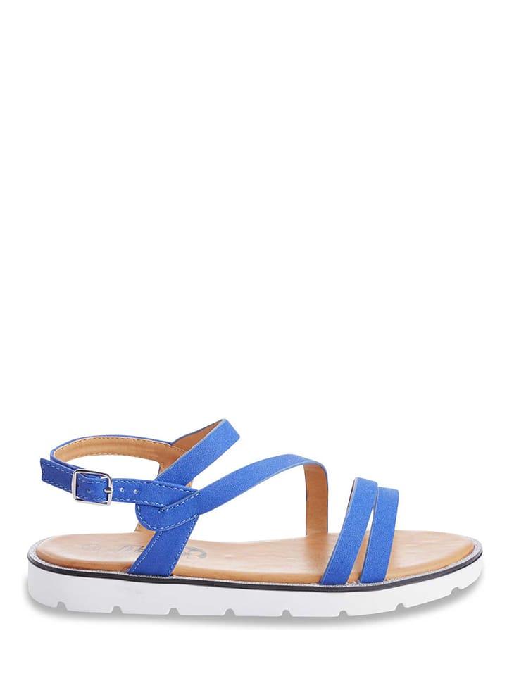 Azur Sandalen in Blau