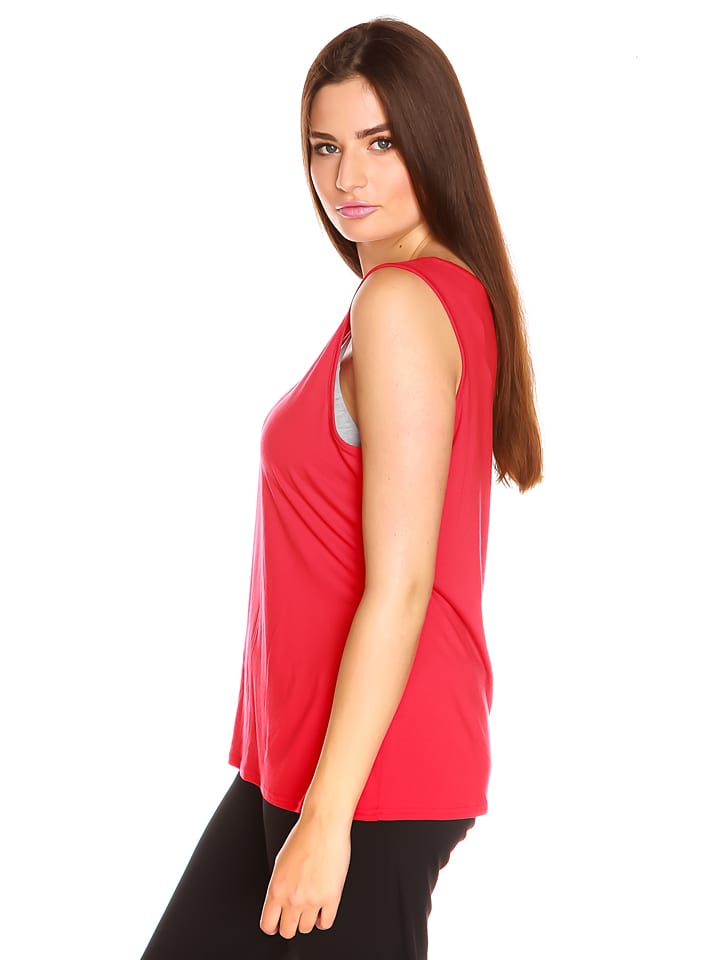 "La Belle Francaise Top ""Charlize"" in Rot"