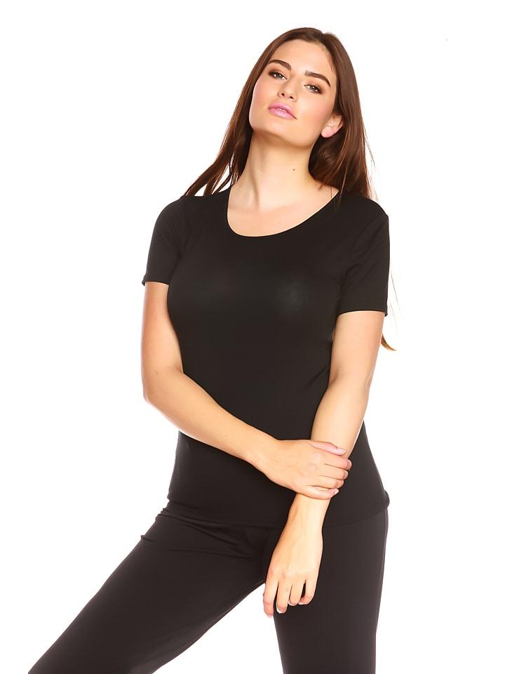 "La Belle Francaise Shirt ""Emma"" in Schwarz"