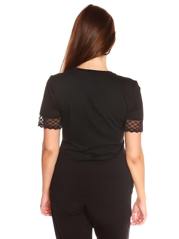 "La Belle Francaise Shirt ""Veronica"" in Schwarz/ Bunt"