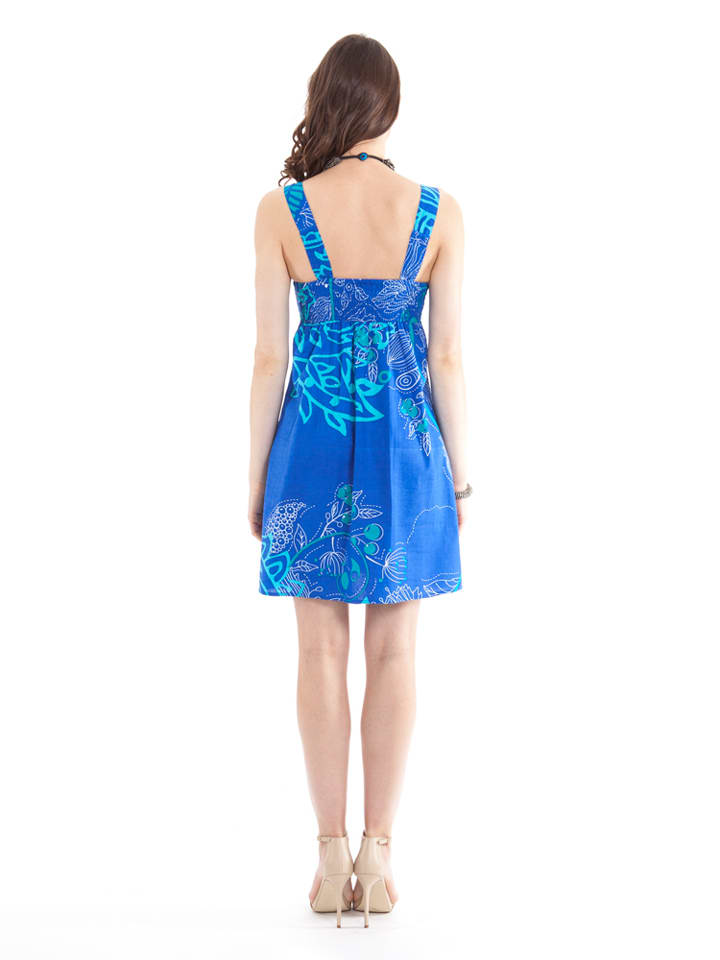 Aller Simplement Kleid in Blau/ Hellblau