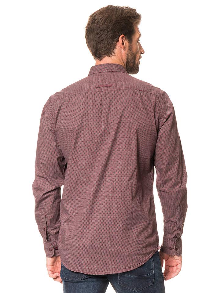 "Camel Active Hemd ""Jack"" - Regular fit - in Rot"