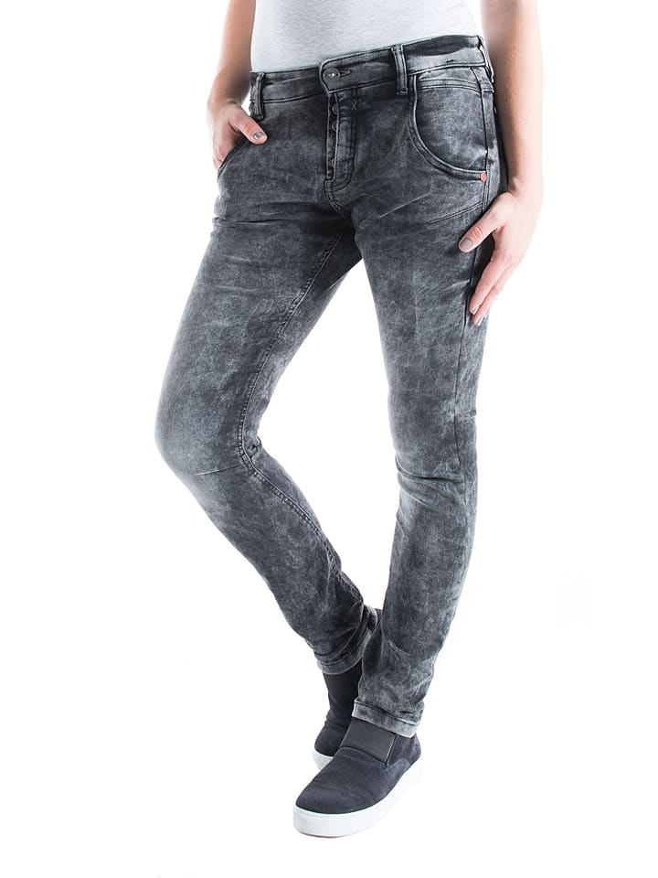 "Timezone Jeans ""Riva"" - Slim fit - in Grau"