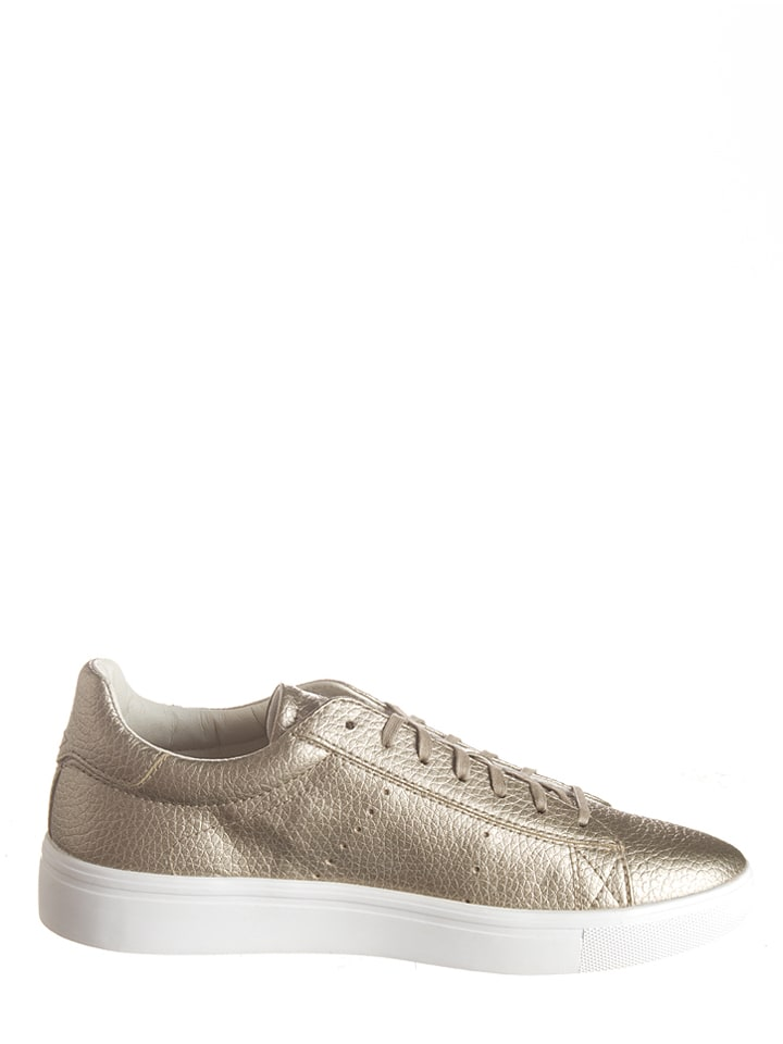 "ESPRIT Sneakers ""Lizette Lace Up"" in Gold"